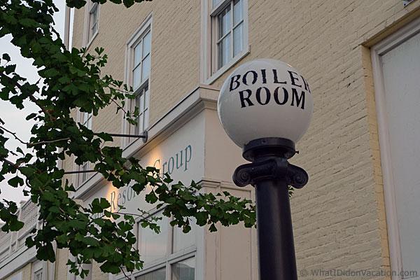 Boiler room street lighting