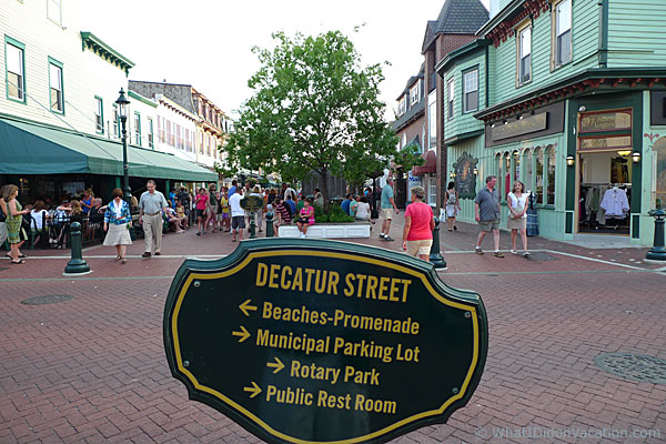 Cape May Decature Street sign