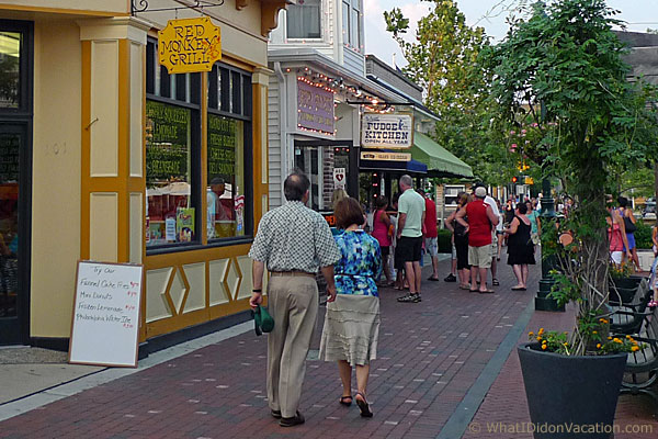 strolling in Cape May