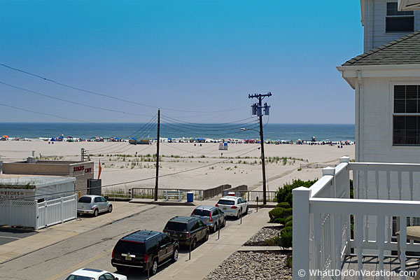 Wildwood Crest townhouse view