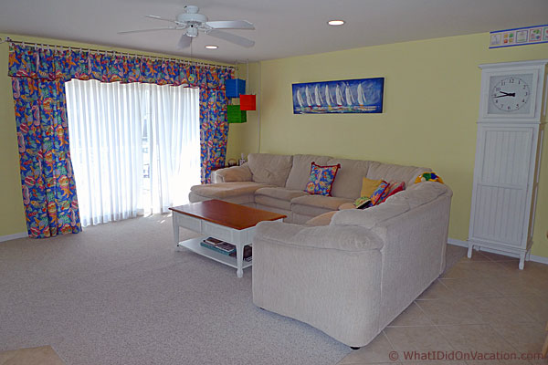 Wildwood crest town house living room