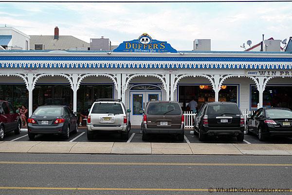 Duffer's Restaurant Wildwood New Jersey