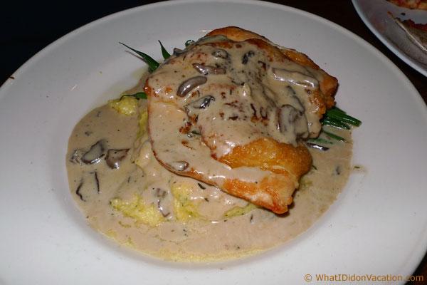 chicken breast in mushroom sauce