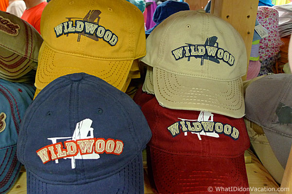 Wildwood baseball hats