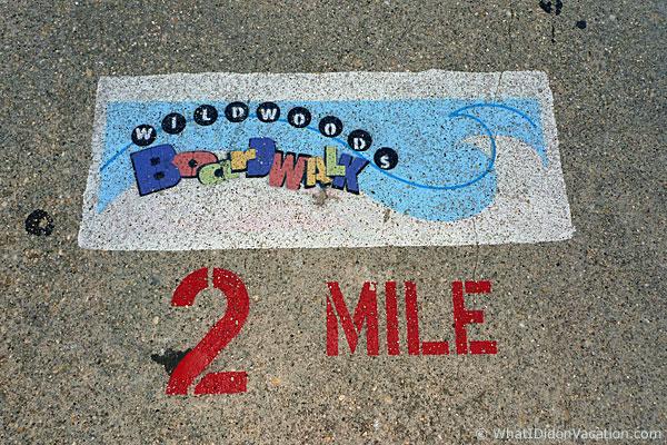 Wildwood's Two Mile Boardwalk