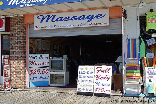 Wildwood Boardwalk Massage Parlour