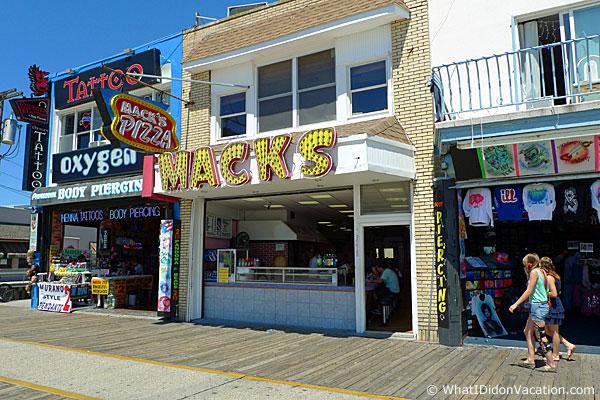 Wildwood Boardwalk Mack's Pizza North