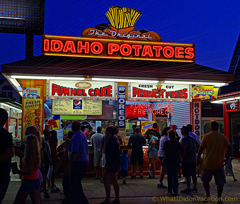Idaho Potatoes fresh cut fries