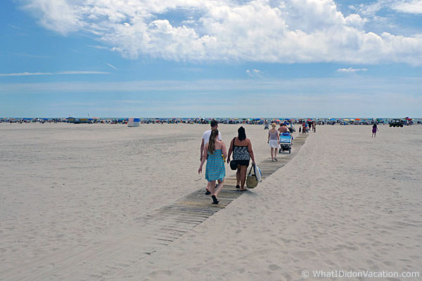Wildwood Crest beach