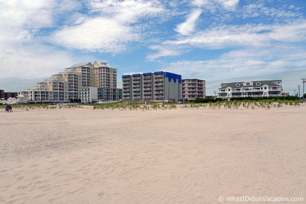 Wildwood Crest condos on the beach