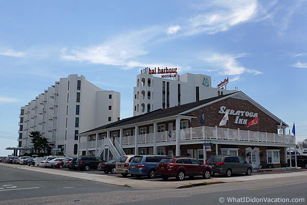 Wildwood Crest Motels Bal Harbout and Saratoga Inn