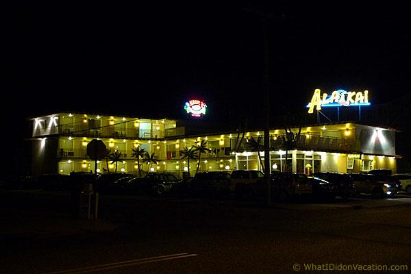 motel night