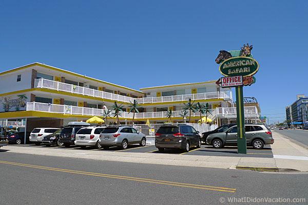 American Safari Motel Wildwood Crest