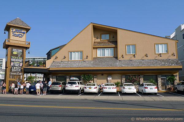 Wildwood Crest Little Italy Restaurant exterior