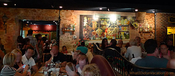 Wildwood Crest Little Italy Restaurant interior