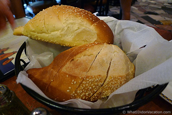 Wildwood Crest Little Italy Restaurant bread