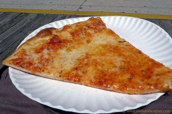 Wildwood Boardwalk Mack's Pizza slice
