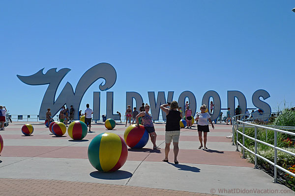 The Wildwoods sign