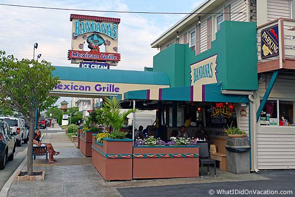 Bandanas Mexican Restaurant Wildwood