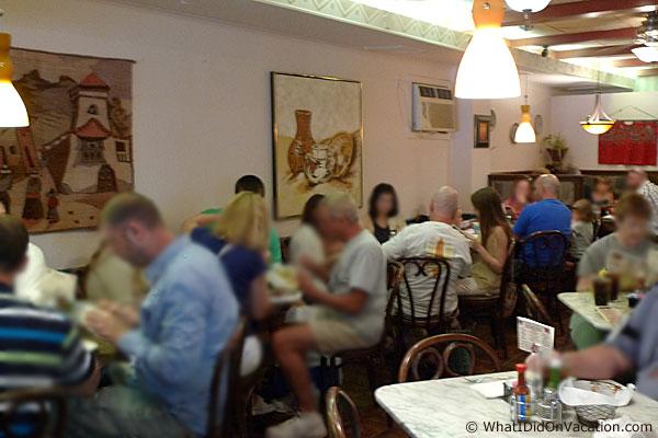 Bandanas Mexican Grille Wildwood Interior