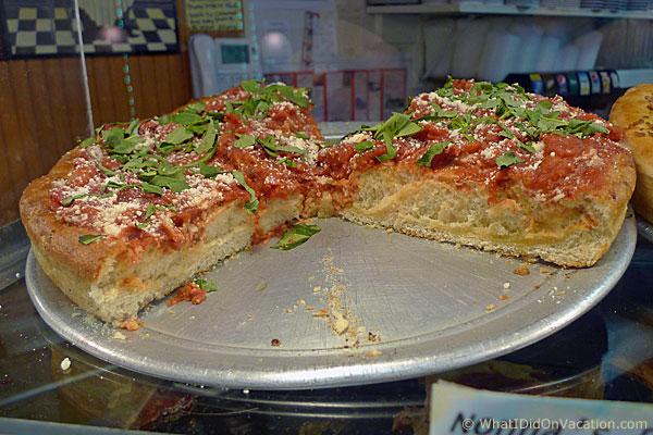 Mario's Pizza Nonna's focaccia