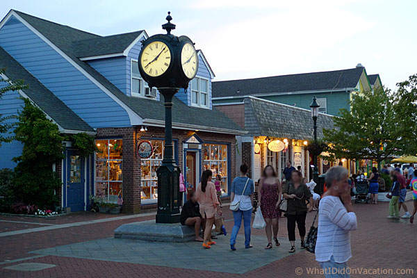 Cape May Washington Street Mall