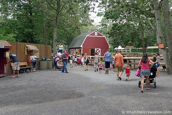 Cape May County Zoo barnyard