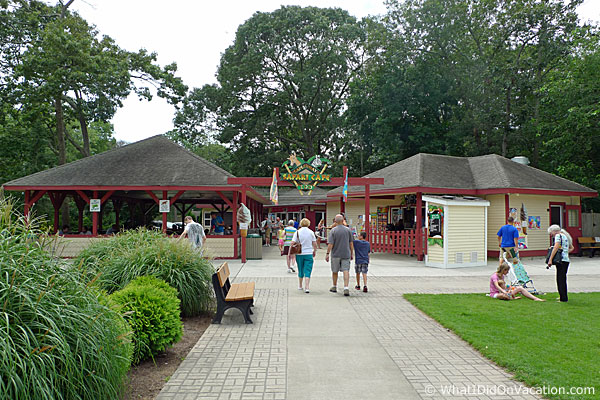 Cape May County Zoo food stand