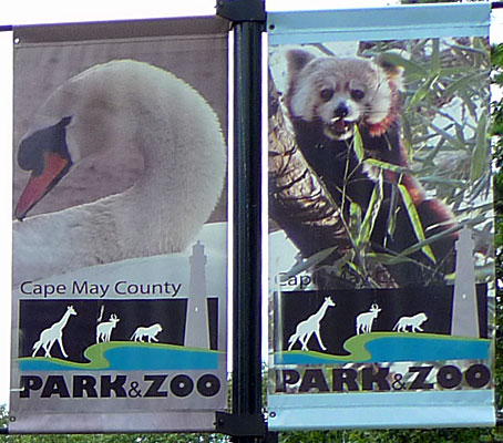 Cape May County Zoo entrance