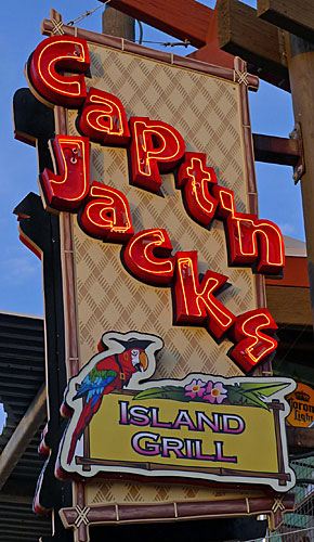 Capt'n Jack's Wildwood Boardwalk Sign