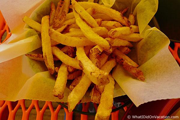 Muai's Dog House Wildwood fries