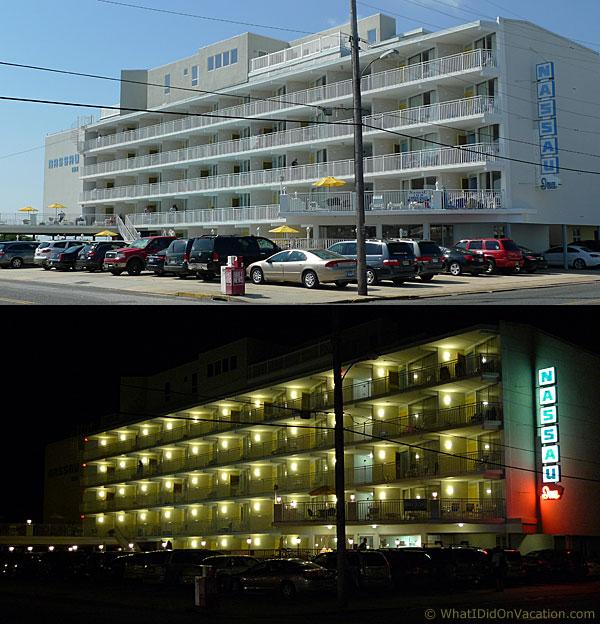 the Nassau Inn day and night