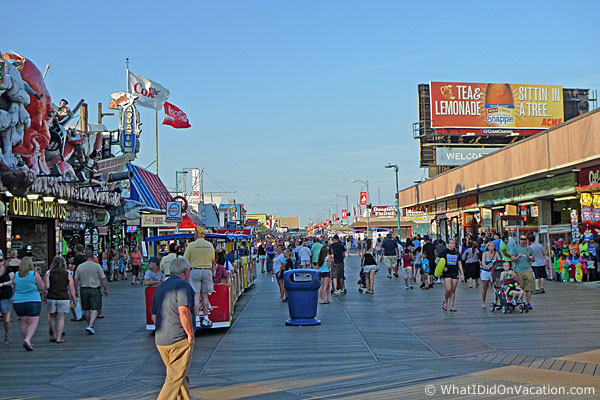 The Wildwood Boardwalk