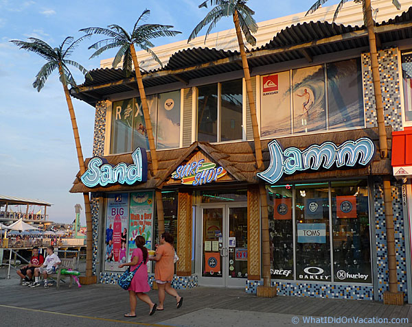 Sand Jamm on the Wildwood Boardwalk