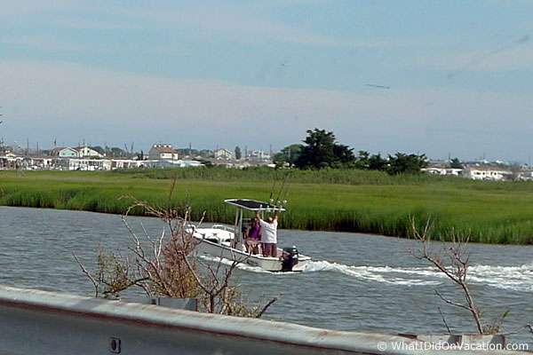 boating in Wildwood New Jersey
