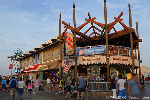Capt'n Jacks Wildwood Boardwalk exterior