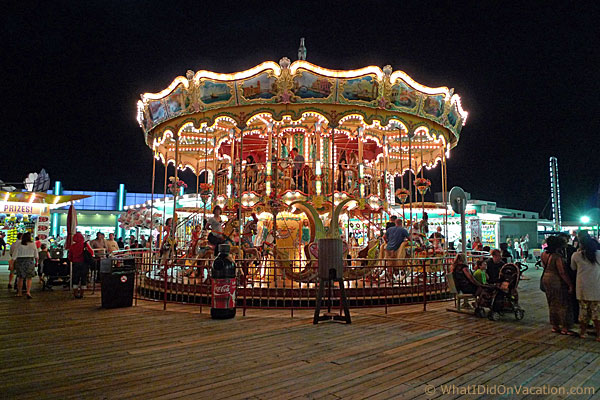 Carousel on the Surfside Pier
