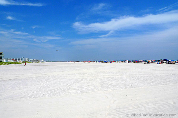 the Wildwood Crest beach
