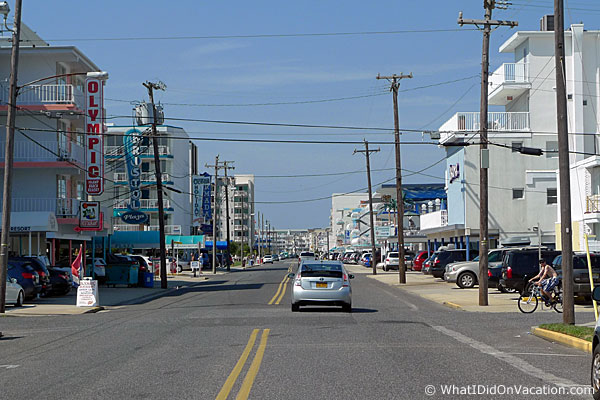 Ocean Avenue Wildwood Crest New Jersey