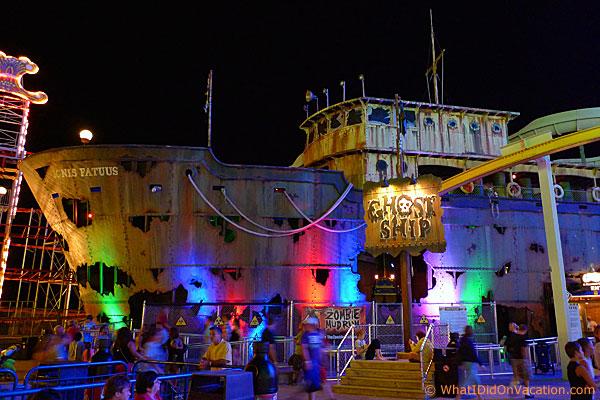 Ghost Ship on Mariner's Landing Pier